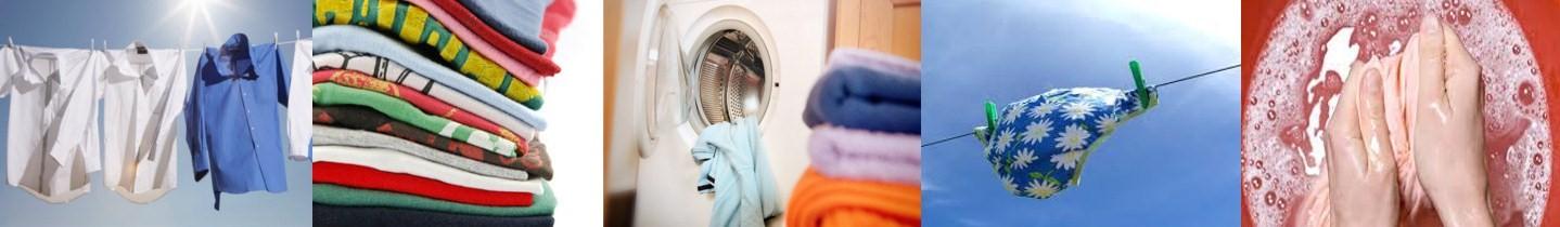 Apģērbu un veļas mazgāšanas līdzekļi